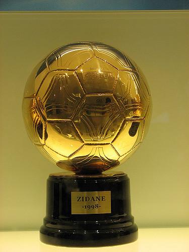 Der Ballon d'Or 1998 ging an Zinédine Zidane