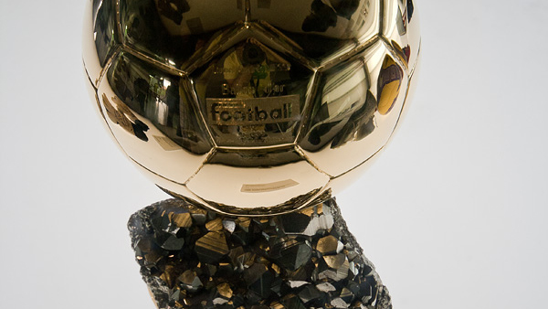Goldener Ball von Lionel Messi