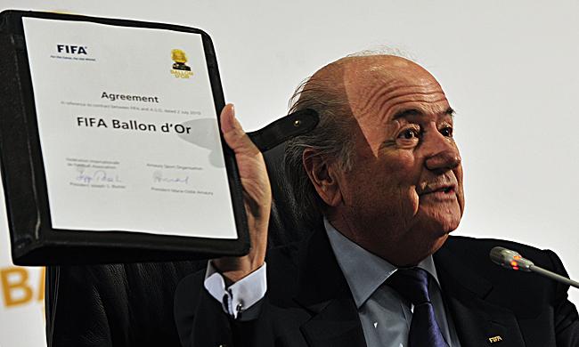 Sepp Blatter FIFA Ballon d'Or Vereinbarung (Foto: © Marcello Casal Jr./ABr / CC BY 3.0 BR / via Wikimedia Commons)