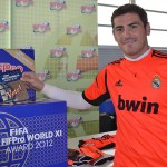 Iker Casillas (Real Madrid) bei der Wahl seiner World XI (Copyright: www.fifpro.org)