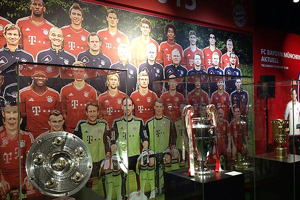 Triple Gewinner Bayern München