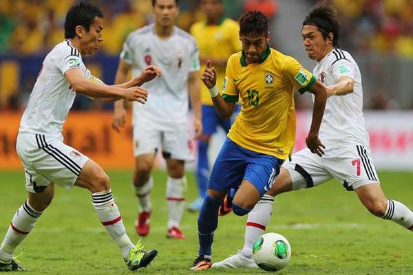 Neymar beim Confed Cup