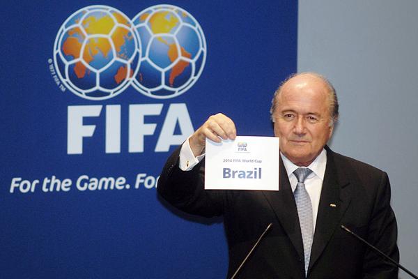 Sepp Blatter WM 2014