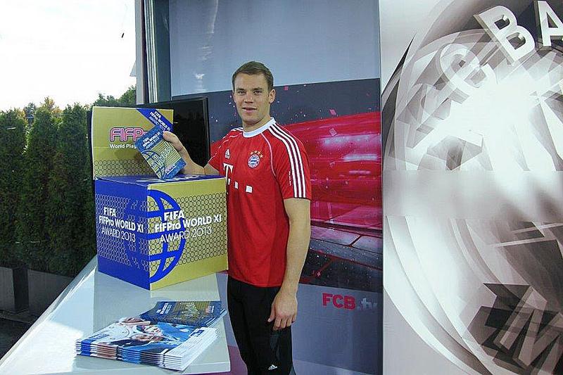 FIFPro WorldXI 2013: Manuel Neuer