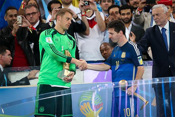 Neuer Messi WM-Finale 2014