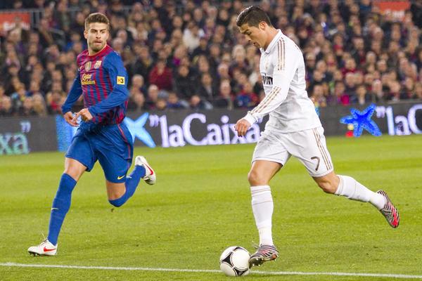 Piqué vs Ronaldo