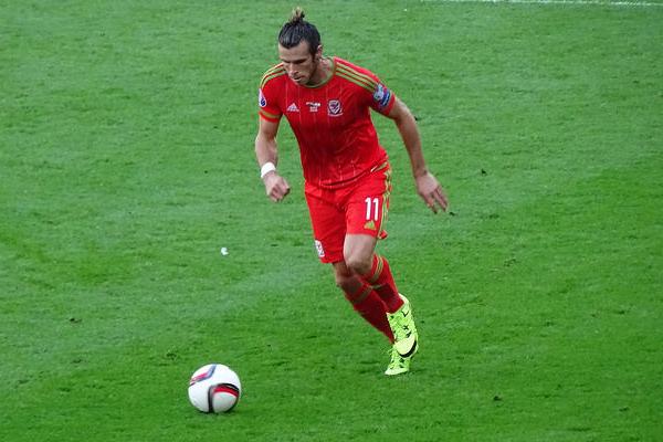 Gareth Bale mit Wales